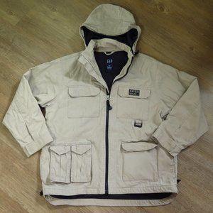 Gap Kids Khaki Jacket Large 10-11 Years